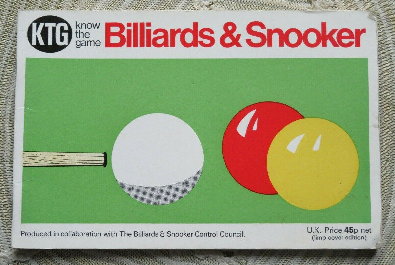 'Know the Game : Billiards and Snooker' 1974 edition