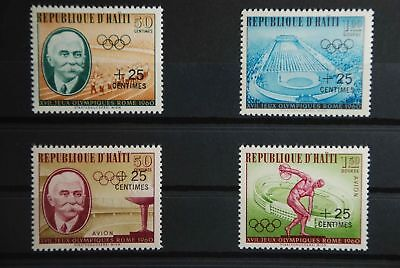 P2 Haiti 636-639 postfrisch, kein Falz