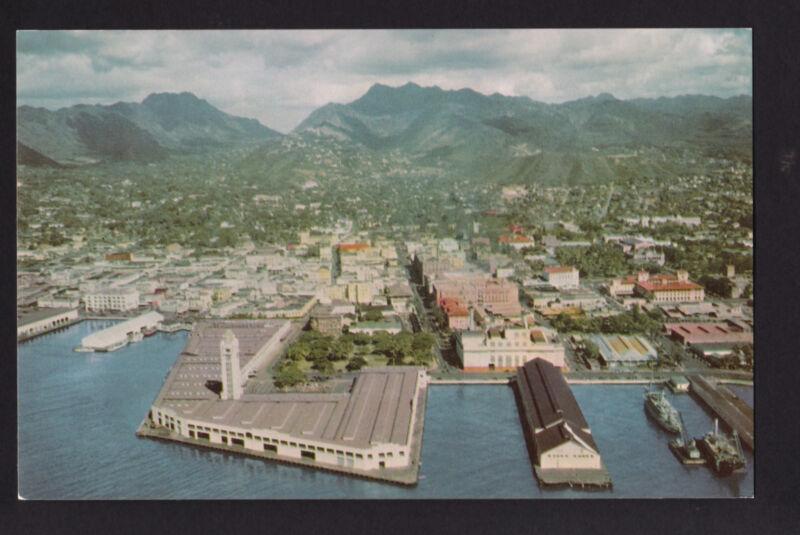 Port Of Honolulu >> Vintage 76 Union Oil Port Of Honolulu Hawaii Postcard Polybull Com