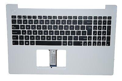 New Genuine Asus X Series X553 X553MA UK Keyboard White Palmrest 90NB04X2-R31UK0