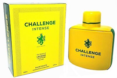 Challenge Intense Cologne 3.4 fl oz Men Our Version Of Lacoste L.12.12. Yellow