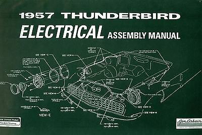 1957 Ford Thunderbird Electrical Assembly Manual