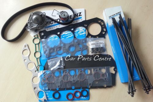 MULTI LAYER STEEL MLS CYLINDER HEAD GASKET SET WATER PUMP BOLTS TIMING BELT KIT