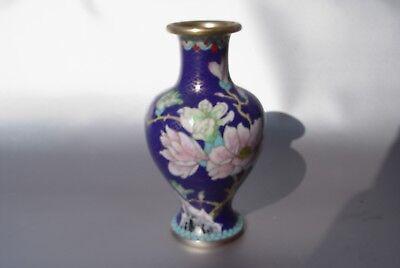 Cloisonne Email Vase alt China Asiatica