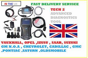 TECH 2 Diagnostic Tool GM/SAAB/VAUXHALL/SUZUKI/ISUZU/TOYOTA - UK STOCK