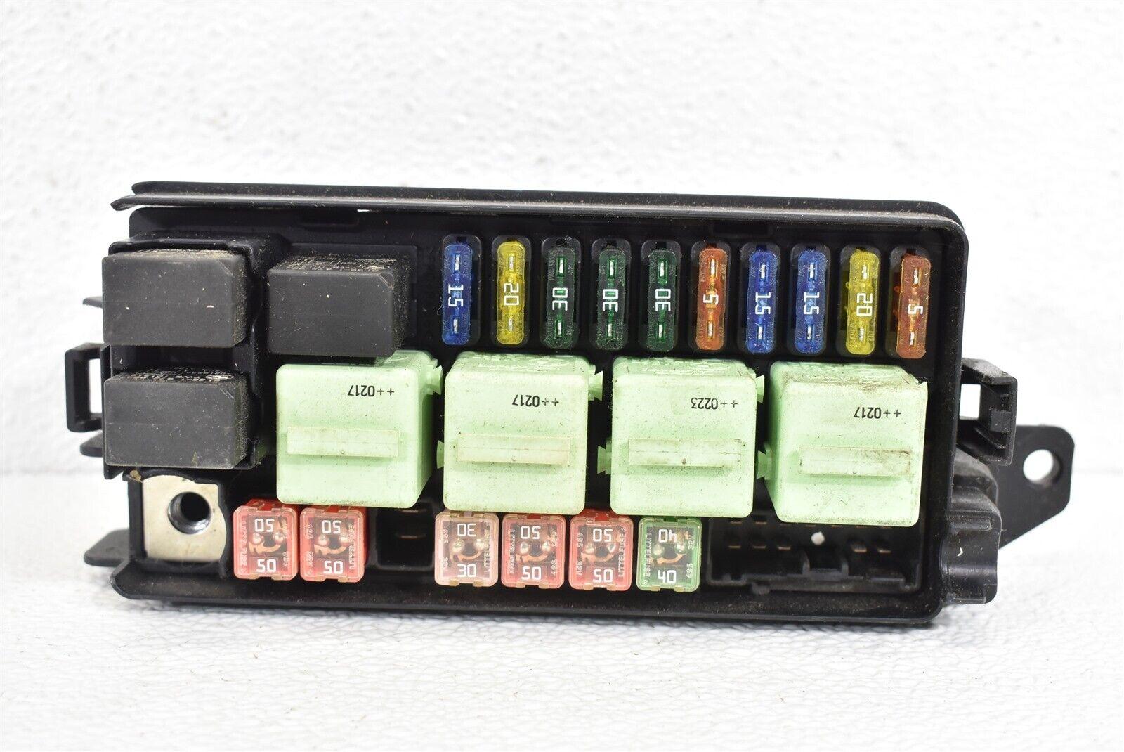 2002 Mini Cooper Fuse Box