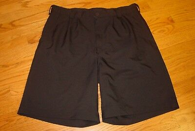 7cb5a3df Mens 36 Under Armour Golf Shorts Black Polyester