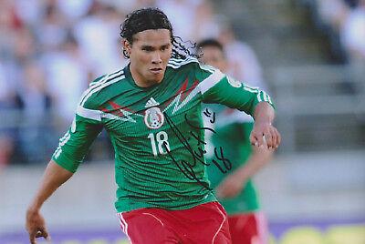 "Carlos Pena signed 12x8"" Mexico photo / proof COA"