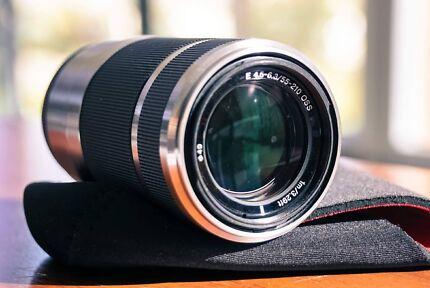 Sony 55-210mm OSS Lens for Sony E Mount - SEL55210
