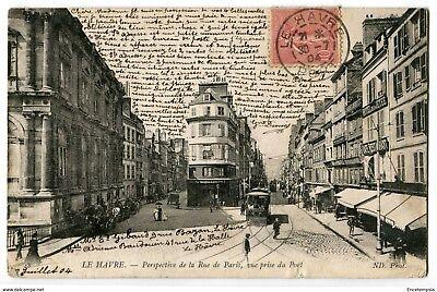 CPA-Carte postale-France-Le Havre - Perspective de la rue de Paris, ( cp304)