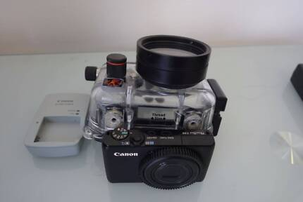 Complete Underwater Camera Setup - Canon S95 and Ikelite Housing