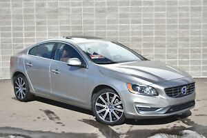 2015 Volvo S60 T6 AWD Premier | Sunroof | Leather | Blind Spot