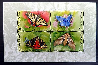 MOLDOVA 2003 Butterflies M/Sheet U/M MS459 NB2122