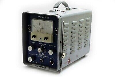 Vintage Magnaflux Magnatest Ed-501 Test Equipment