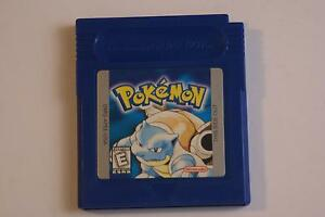 Pokemon Blue for Gameboy/Gameboy Color - Great Classic Game!