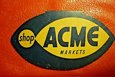 Vintage Acme Markets advertising sewing needle kit booklet, west Germany