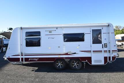 2010 PARAMOUNT CLASSIC 18'6 TANDEM AXLE SHOWER & TOILET Forest Glen Maroochydore Area Preview