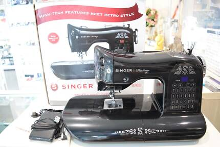Singers Portable Sewing Machine Sewing Machines Gumtree Mesmerizing Singer Heritage 8768 Sewing Machine