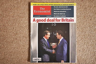 * The Economist May 15-21 2010 * Coalition government Emergeing markets banking