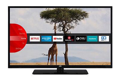 JVC LT-32V55LHA LED Fernseher 32 Zoll HD Ready Triple Tuner Smart TV WLAN BT