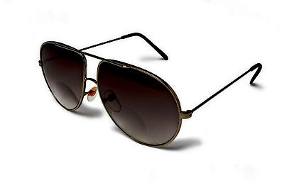 MENS BIFOCAL PILOT SUN READERS. LUXURIOUS QUALITY PEWTER FRAME.BEST SELLER (Best Luxury Sunglasses For Men)