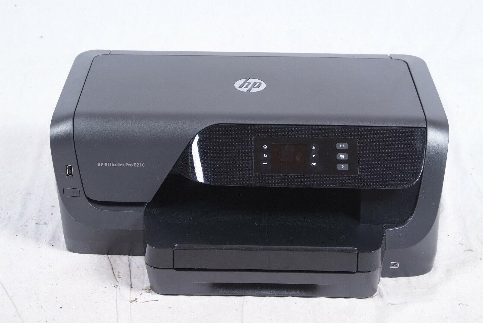 HP OfficeJet Pro 8210 Drucker WiFi Netzwerk Duplex Airprint 2400x1200dpi
