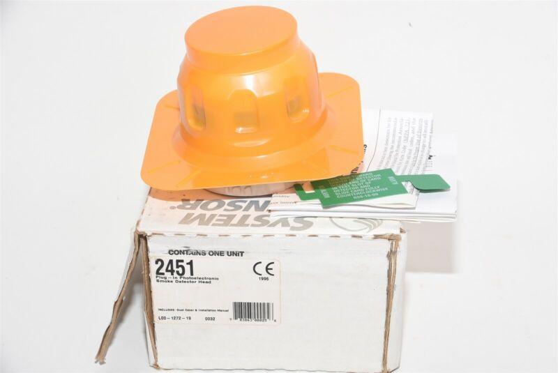 System Sensor 2451 Plug-in Photoelectric Smoke Detector Head