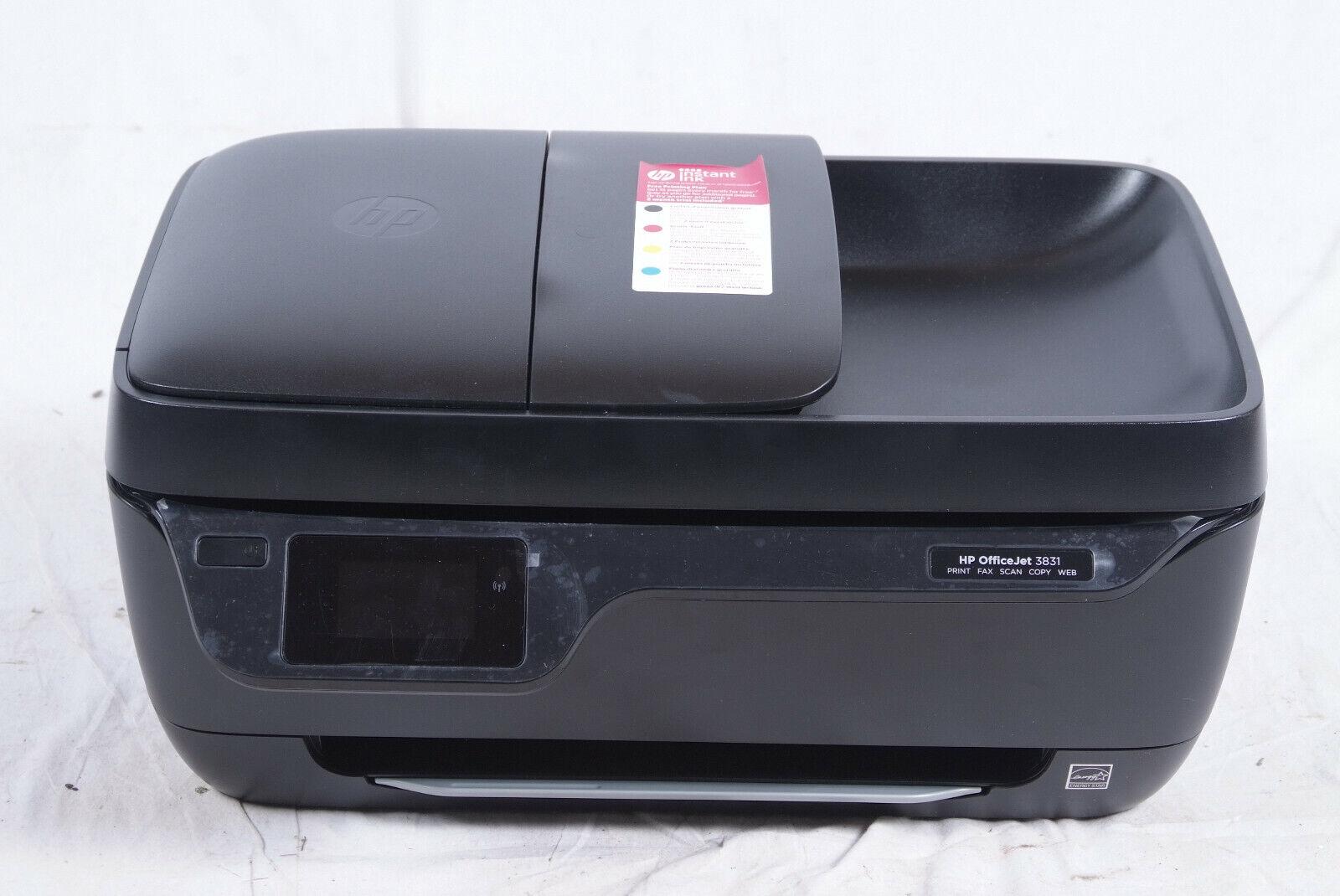 HP OfficeJet 3831 Drucker Multifunktionsdrucker Scannen Kopieren Wifi AirPrint 2