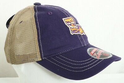 NEW Louisiana State Tigers LSU Zephyr Purple Trucker Snapback Baseball Hat Cap Louisiana Tigers