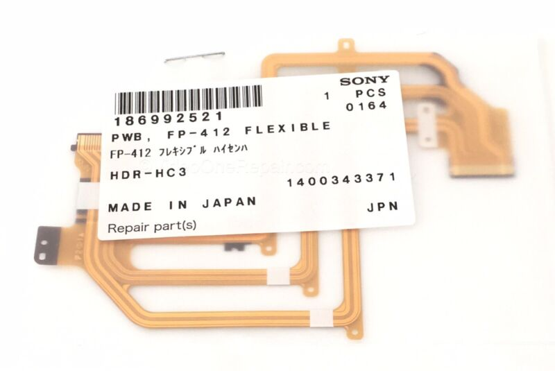 Sony Flex PCB Part Replacement 1-8699-252-1 186992521 Genuine Sony