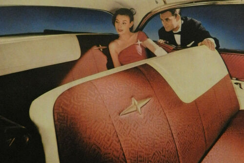 1957 PONTIAC SALES BROCHURE  -- LARGE CATALOG STYLE BOOK