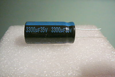 3300uf 35v 3300mfd Lot Of 5 Jamicon Radial Capacitors 105c Usa Free Ship