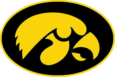 Iowa Hawkeyes Vinyl Sticker Decal *MANY SIZES* Cornhole Truck CarBumper Wall