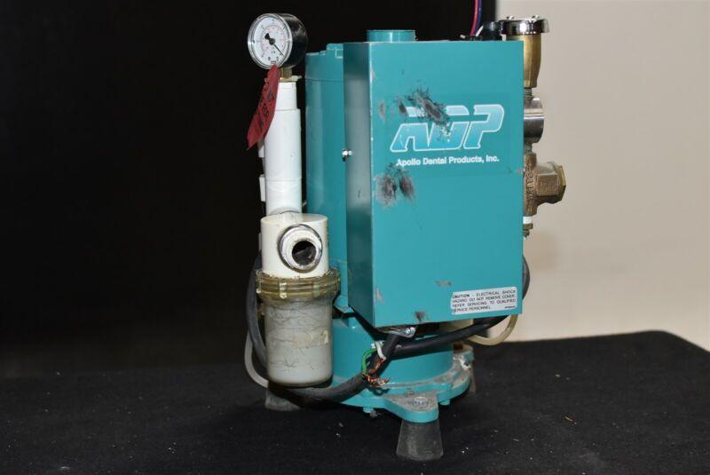Adp Apollo Avsvs100E Dental Vacuum Pump Wet System Operatory Suction Unit