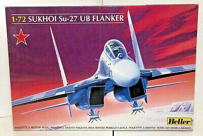 Sukhoi Su-27 UB Flanker 1:72 Heller Model Kit 80371