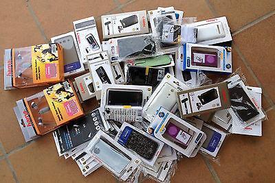 Gran lote fundas para Ipod, nano4, Samsung, Sony, Nokia, HTC, protectores (Nº5) segunda mano  Avinyonet