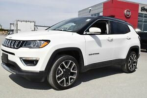 2017 Jeep Compass Limited+toit+navigation+basKM
