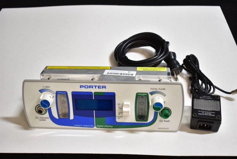 Porter 4065D Dental Nitrous Unit for Flowmeter Conscious Sedation