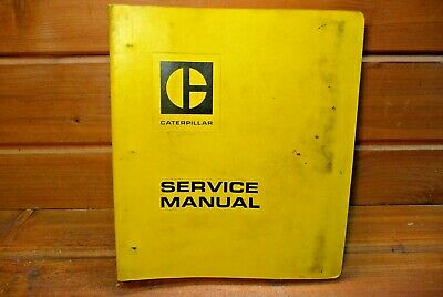 Vintage Caterpillar Service Manual 1140 1145 1150 1160 Engines Early 1970s
