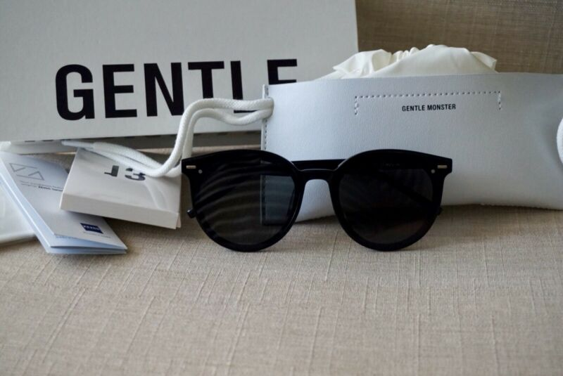 69b0dd312bcd Authentic Gentle Monster EAST MOON 01 Black Sunglasses