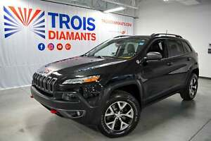 2016 Jeep Cherokee TRAILHAWK*CUIR*CAMÉRA RECUL*OFF ROAD GROUPE*