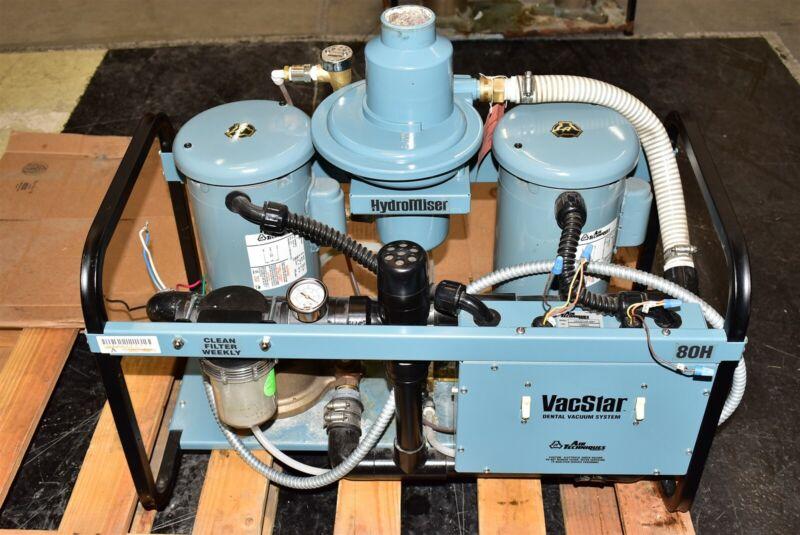 Air Techniques VacStar 80H 2007 Dental Vacuum Pump System Operatory Suction Unit
