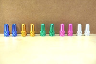 Presta Valve Caps Anodised Alloy Dust Cover Pair BEST PRICE ON eBay 5 (Bmx Bike Best Color)