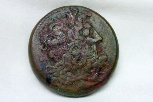 Greek Ptolemaic Kingdom of Egypt Bronze Ptolemy 67 grams I-12179