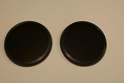 FM12 CT12 SAS RESPIRATOR GAS MASK BLACK OUTSERTS LENSES