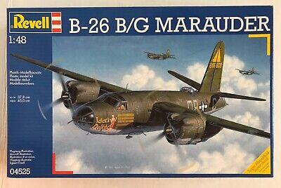 B-26 B/G Marauder 1/48 2003 Revell Plastic Model Kit 04525 NISB MINT WWII Bomber