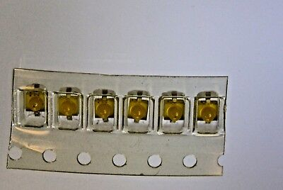 100pcs Led Mini Yellow 1mm Hlmp-7019011 Hewlett Packard