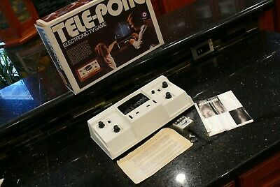 ENTEX TELEPONG  Vintage Video Arcade Game  Console Computer System✨NICE BOX✨