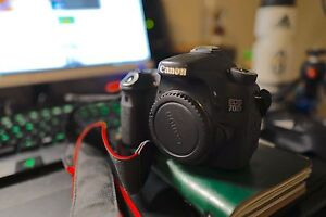 Canon 70d and lenses and accessories