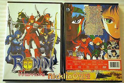 Ronin Warriors Samurai Troopers Complete 1-39 +11 OVA Anime DVD Collection Set
